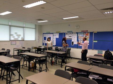 サンウェイ・インターナショナルの教室
